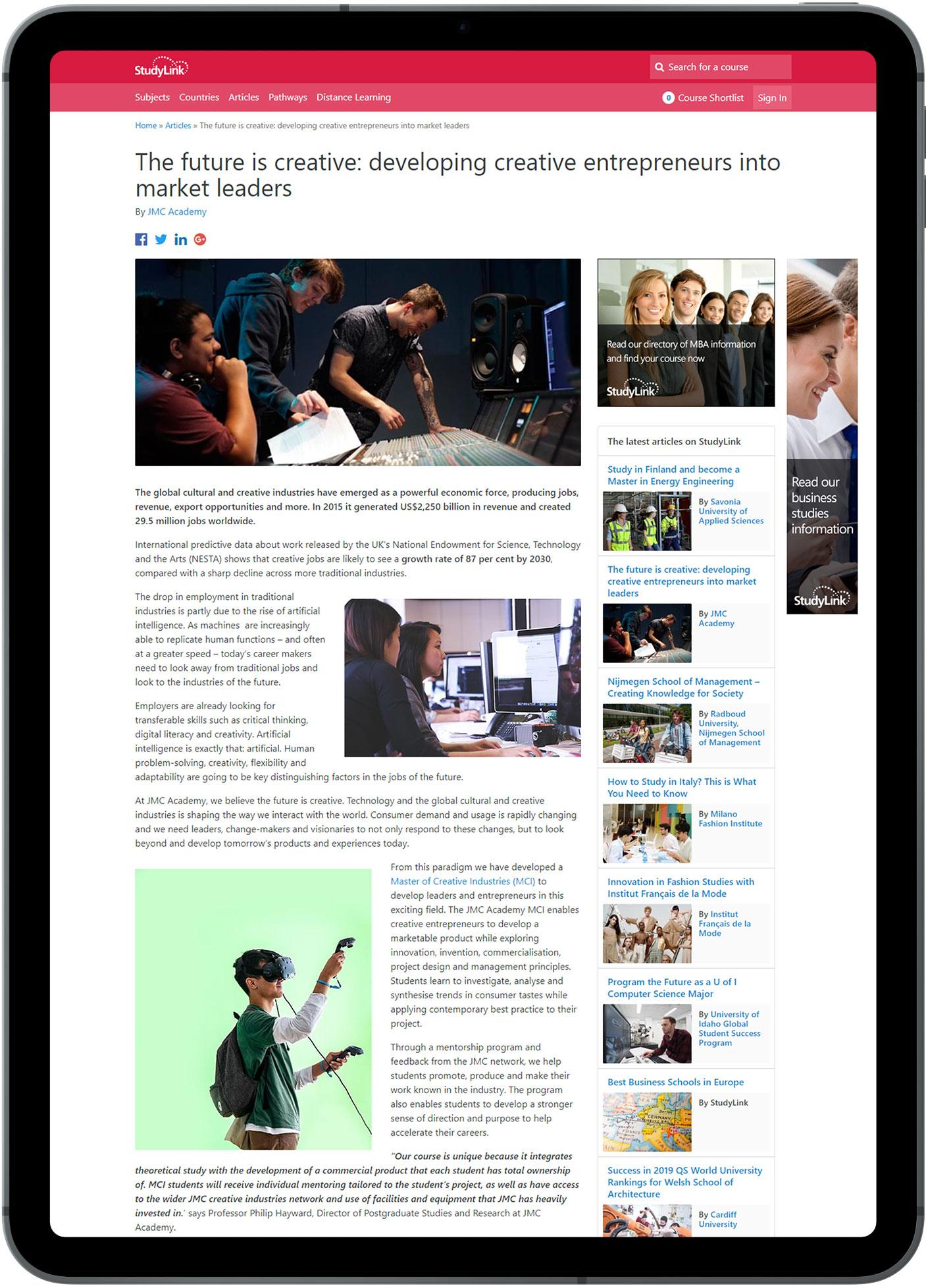 StudyLink.com Blog
